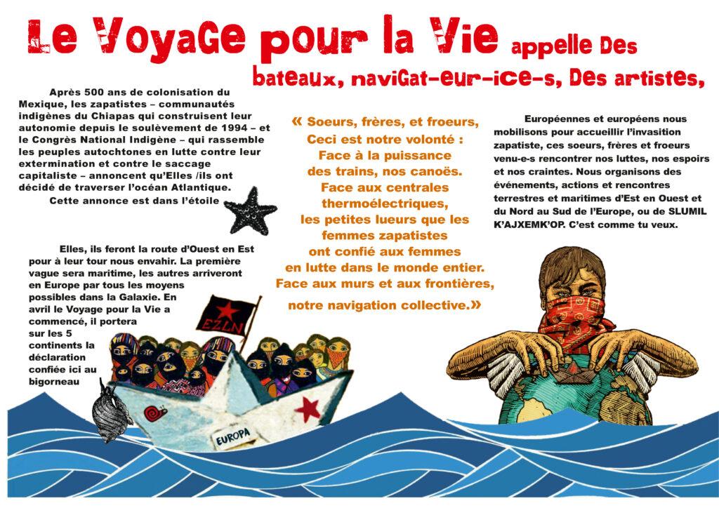 Le Voyage pour la Vie @ Ile de Berder